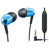 PHILIPS In Ear with microphone [SHE 3905 BL] - Blue - Earphone Ear Monitor / Iem